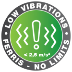 LOWVIBE logo Ferris-Outlined