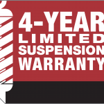 Suspension Warranty Badge CMYK